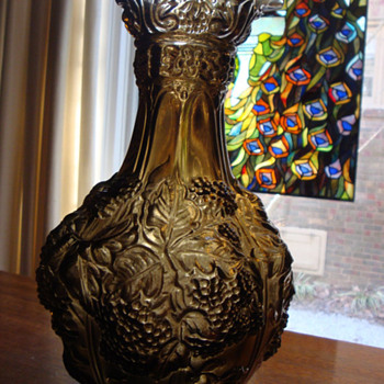 Vintage Imperial Glass Co. Grape Decanter/Vase - Glassware