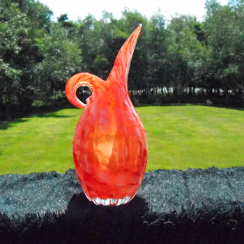 Lefton Vase/Pitcher - Art Glass