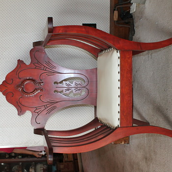 "My great-great grandmother's chair ""Devil's Throne""?"