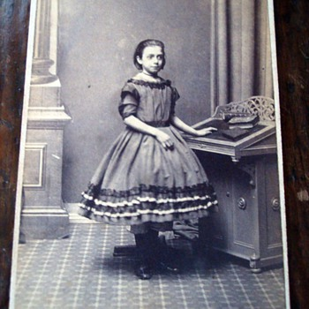 CDV of (could it be?) Alice in Wonderland - Photographs