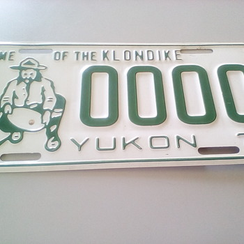 Old Licence Plates - Classic Cars