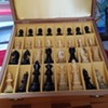 horn/bone chess set