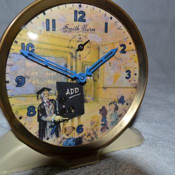 Schoolmaster - Smiths Automaton Alarm Clock