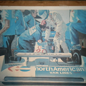 1978 Indianapolis 500 Watercolor - Posters and Prints