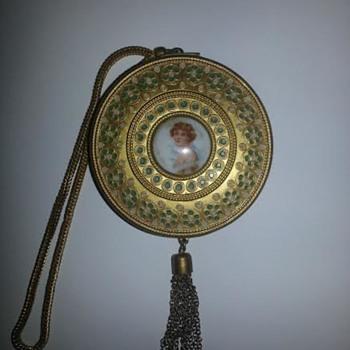 Vintage Lady's Bracelet Compact