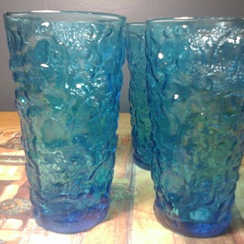 Blue glasses  - Glassware