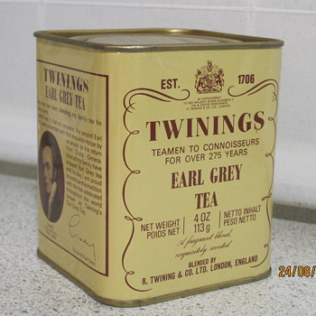 Twinings Earl Grey Tea - Advertising