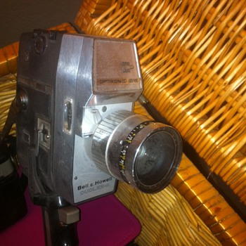 Antique Vintage Movie Camera Bell Howell - Cameras