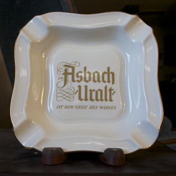 Asbach-Uralt Ashtray - Advertising