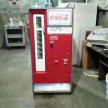 1960 coca cola vending machine - Coca-Cola