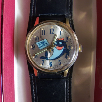"1971 ""Sorry Charlie"" Wrist Watch - Wristwatches"