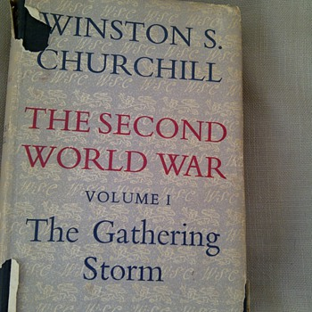 The Second World War (Volumes I - VI) Winston Churchill - Books