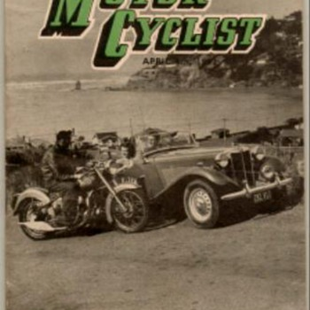 1952 - New Zealand Motorcyclist Magazine - Paper