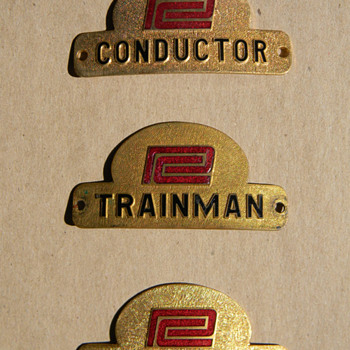 Penn Central Badges