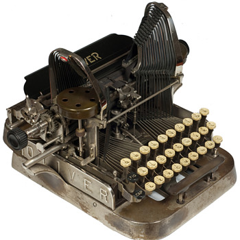 Oliver 2 typewriter - 1896 - Office