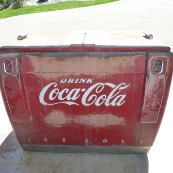 Latest Coca- Cola cooler project!