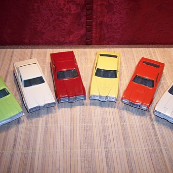 Funmates, Ford and Mercury cars - Model Cars