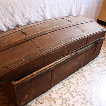 Antique Spanish Trunk - Furniture