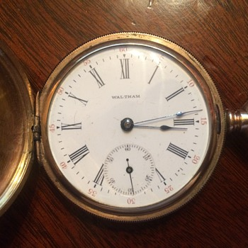 My Trusty Waltham Hunter Pocket watch from 1900: LONG Story riddled with esotericism included. You have been WARNED