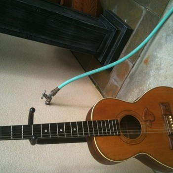 Washburn A1287 Acoustic Lap Guitar