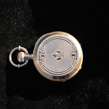 18K Gold Ladies Pocket Watch...Swiss? 1880? Maker? CWS?