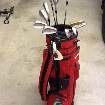 Coca-Cola Golf Clubs - Coca-Cola