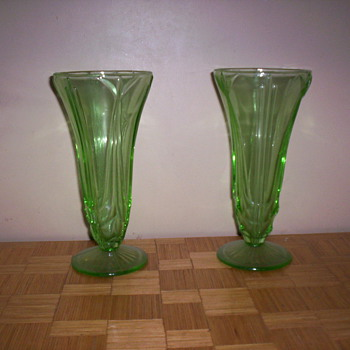 Collection of Vases - Glassware