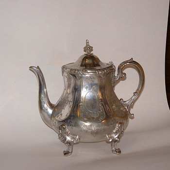 teapot - Sterling Silver