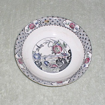 "W.R. Midwinter Burslem England ""Moyen"" pattern bowl"