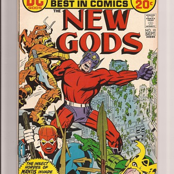Kirby Fourth World New Gods