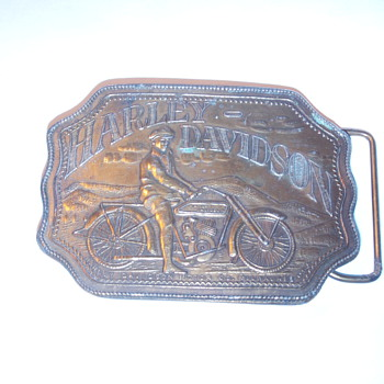 Harley Davidson belt buckle - Accessories