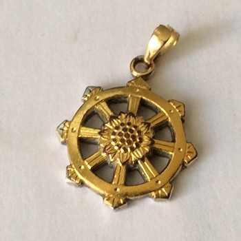 Vintage gold pendant - Fine Jewelry