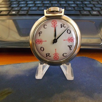 "Homemade ""Fantasy"" style watch....Needed a Prospective - Folk Art"