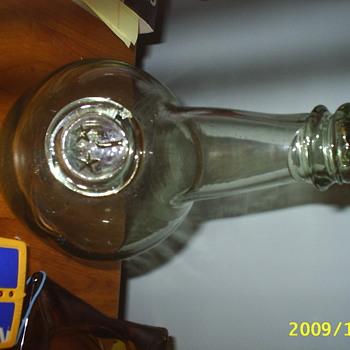the garage sale find - Bottles