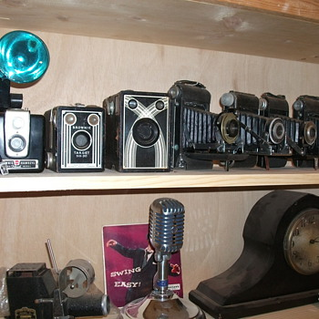 misc early cameras. - Cameras