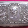 SILVER TOBACCO BOX, PRAGUE, 1837  SYMBOLS?
