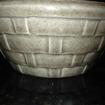 Makers Mark on Pottery Bowl - Art Pottery