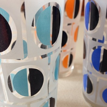 70's Drinking glasses - Glassware