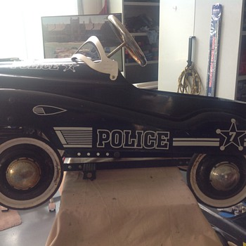 Police pedal car based on murray champion - Toys