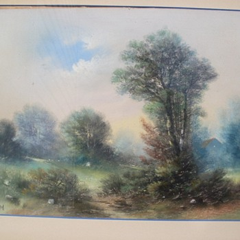 PASTEL PAINTING BY  WILLIAM HENRY CHANDLER?