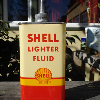 SHELL LIGHTER FLUID,AEROSOL INSECTICIDE,RETINAX K - Petroliana