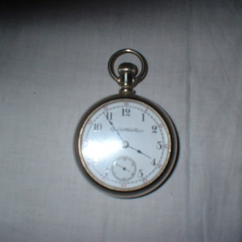 1884 Elgin Pocket Watch
