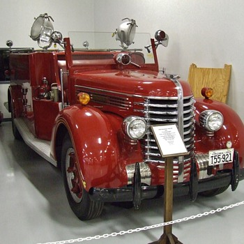 More from our trip to the Keystone Antique Truck and Tractor Museum - Firefighting