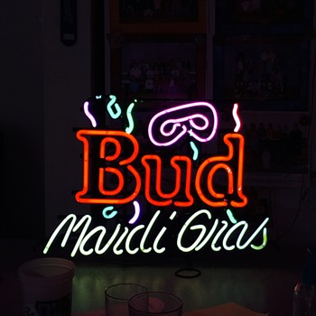 My new bud sign - Signs