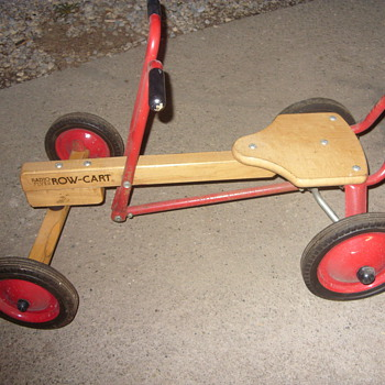 radio flyer row cart