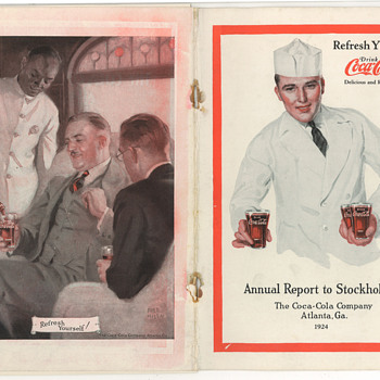 1924 Coca-Cola Annual Report To Stockholders
