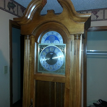 60 year old Seth Thomas Grandfather clock
