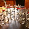 Vintage bar glasses ~ Fox &amp; hounds?