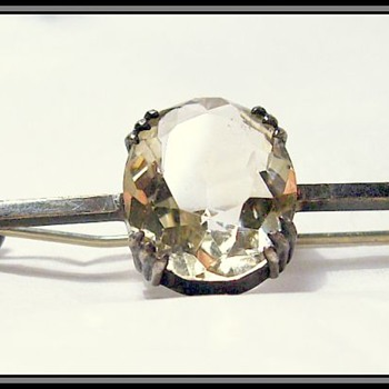 Vintage Brooch -- Sterling Silver - Fine Jewelry