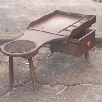 vintage smokers end table? - Furniture